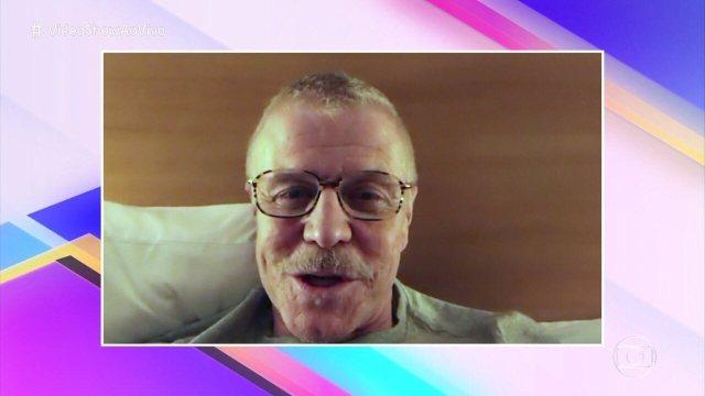 Miguel Falabella manda mensagem nos 35 anos do 'Vídeo Show'