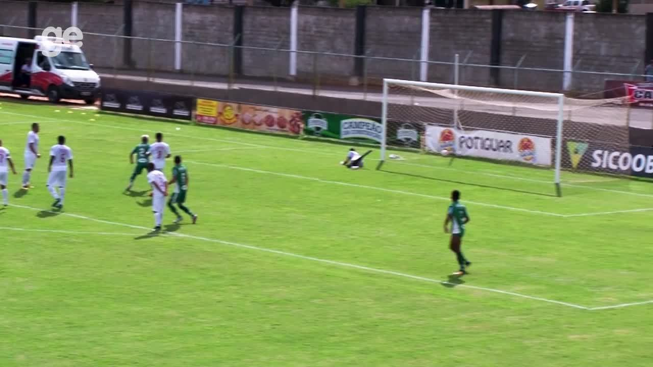 Os gols de Ceilândia 1 x 1 Formosa pelas quartas de final do Campeonato Brasiliense