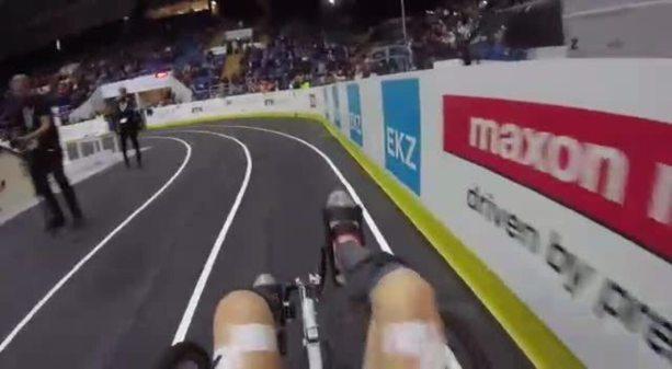 Participação da equipe EMA Trike na olimpíada biônica Cybathlon, em 2016