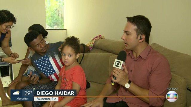 Menina de 4 anos sobrevivente do desabamento está com vizinha e sem notícias da família