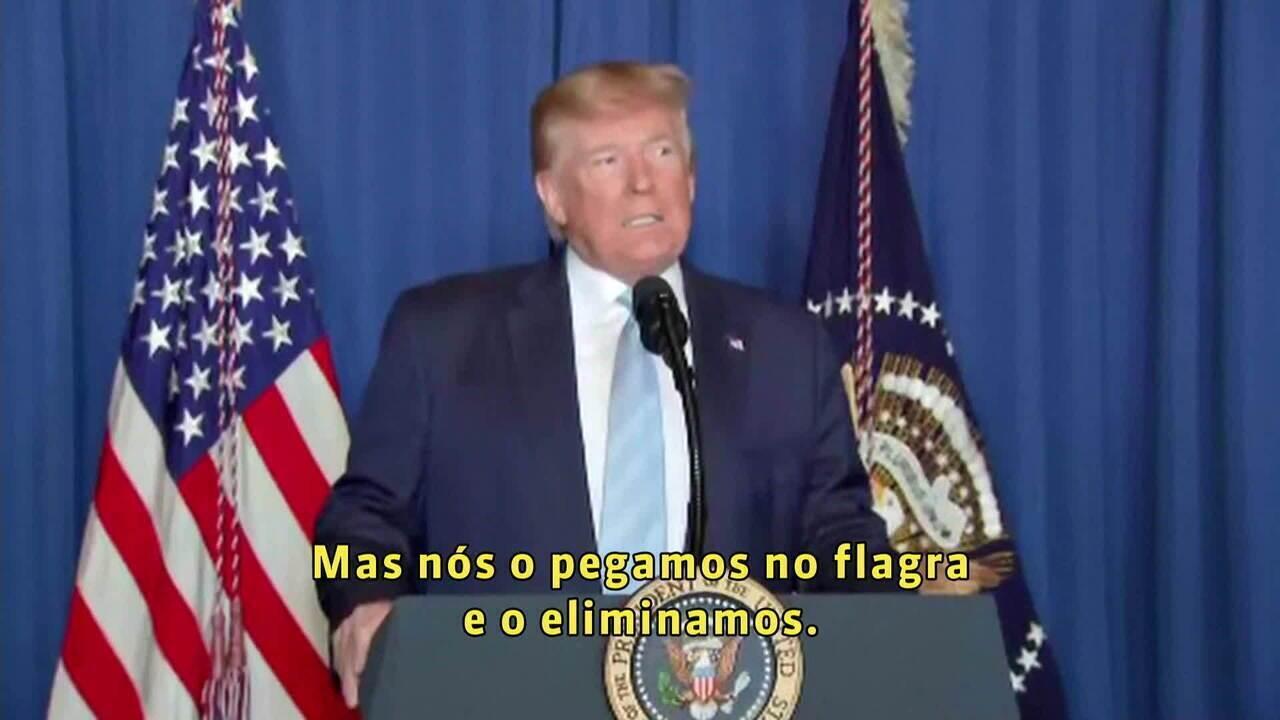 Donald Trump: Soleimani planejava ataques contra americanos