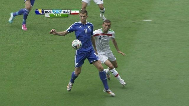 Resultado de imagem para Bosnia 3 x 1 Irã
