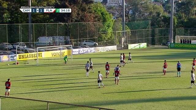 Melhores momentos de Atlético-MG 1 x 2 Flamengo pela 2ª rodada do Campeonato Brasileirosub-20