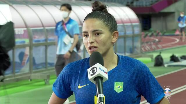 """Autora do primeiro gol, Debinha analisa empate: """"A gente poderia ter saído com a vitória"""""""