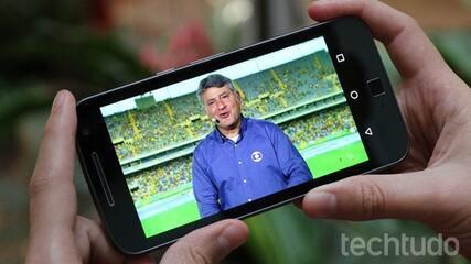 Como assistir a jogos de futebol pelo celular pelo Globoplay