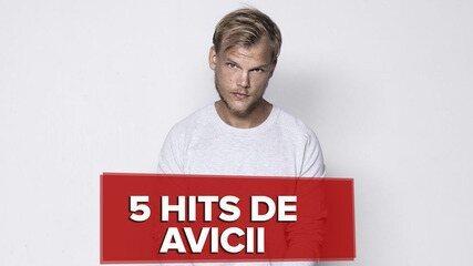 5 hits by avicii