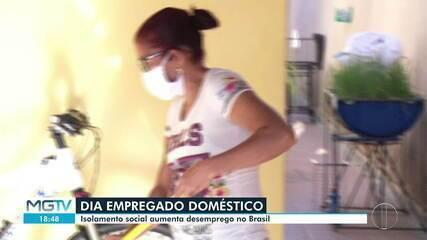 Pandemia faz aumentar desemprego entre domésticas, aponta IBGE