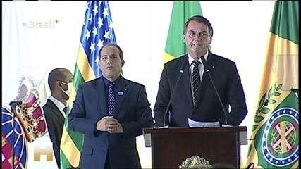 Outubro de 2020: Bolsonaro diz que governo não aumentou impostos durante a pandemia e não aumentaria depois