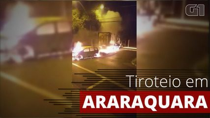 Araraquara tem alvorada do terror com tiros após tentativa de assalto a banco