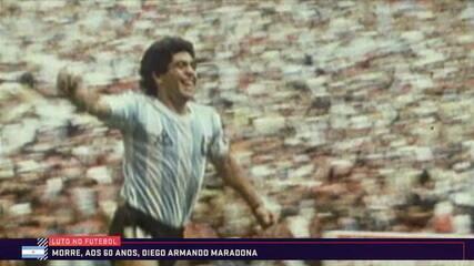Maradona sofre parada cardiorrespiratória e morre aos 60 anos