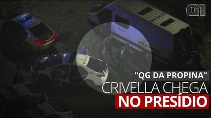 Prefeito Marcelo Crivella é levado para o sistema penitenciário