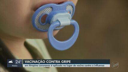 Por engano, 46 moradores de Itirapina recebem dose contra a Covid na vacinação da gripe