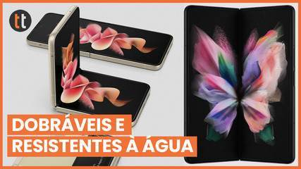 Galaxy Z Flip 3 and Galaxy Z Fold 3 are announced (now water resistant)
