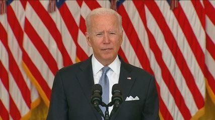 Biden: 'Nunca houve momento certo para retirar tropas'
