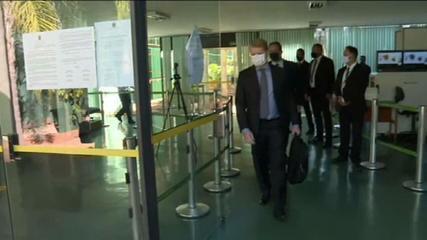 VÍDEO: PF faz buscas no gabinete do deputado federal Otoni de Paula na Câmara dos Deputados