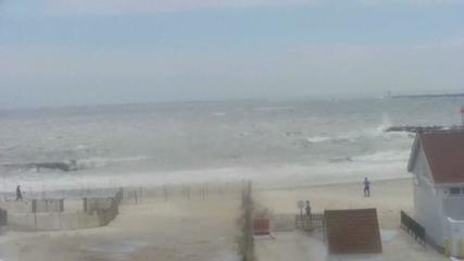 VIDEO: Tropical storm Henri hits the coast in the northeast of the US