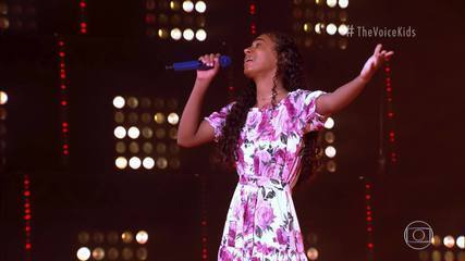 Izabelle Ribeiro sings 'Speaking Seriously'