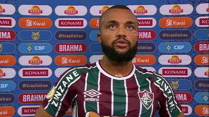"""Samuel Xavier analyzes draw and regrets lost goal: """"I tried to make the most of it"""""""