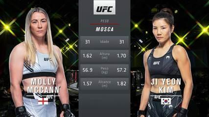 UFC Brunson v Till - Molly McCann v Ji Yeon Kim
