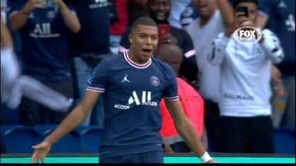 The goals of PSG 4 x 0 Clermont in the 5th Round of the French Championship