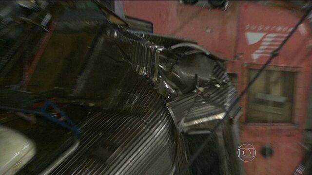 Batida entre dois trens deixa mais de 140 feridos na Baixada Fluminense 1