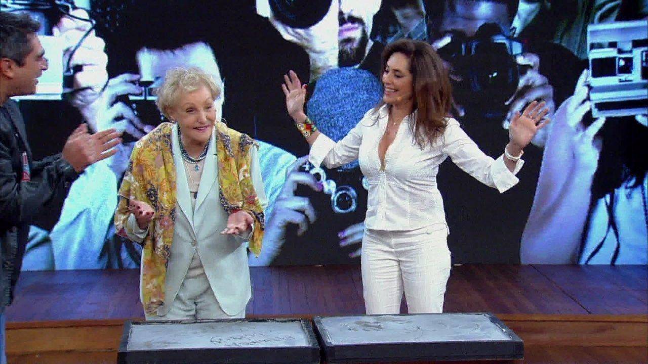 Vdeo Show  Christiane Torloni e Monah Delacy assinam a
