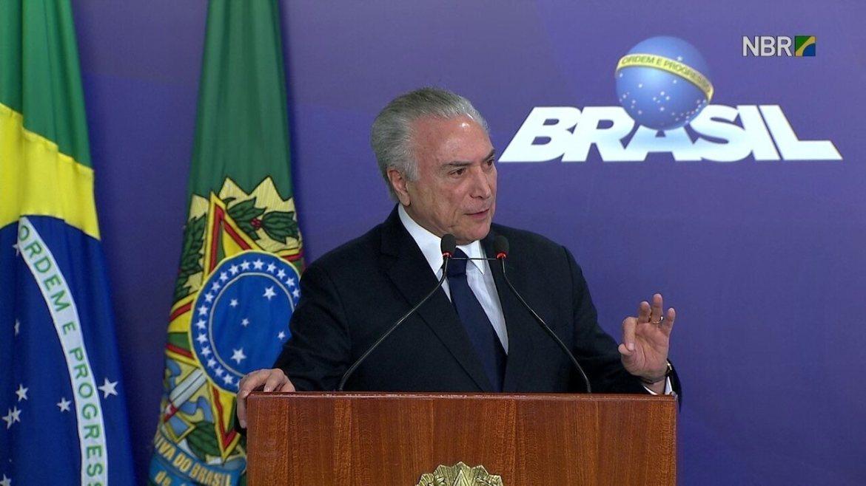Presidente Temer diz que seu governo tem avançado muito na área da saúde