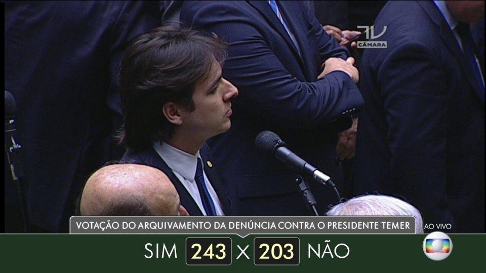 Veja como votaram dos deputados do estado da Paraíba