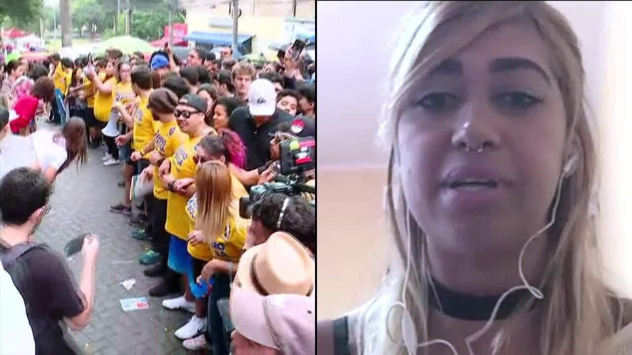 Aluna de direito Hevellyn Nicolle ajuda candidatos atrasados em São Paulo