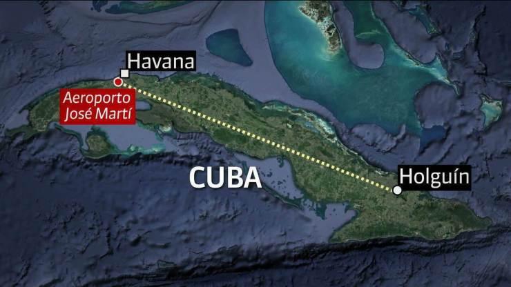 Resultado de imagem para queda avião havana cuba