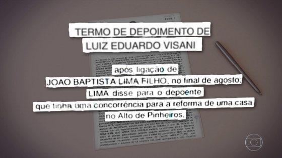 Resultado de imagem para Engenheiro diz que recebeu quase R$ 1 milhão de empresa do coronel Lima por obra na casa de filha de Temer