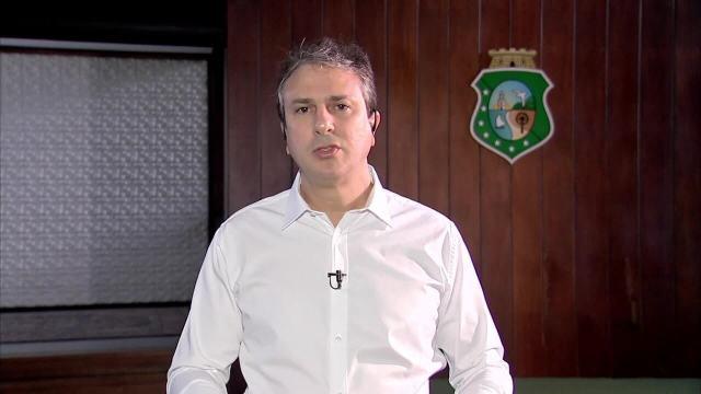 Governador do CE, Camilo Santana diz que vai combater o crime dentro e fora dos presídios