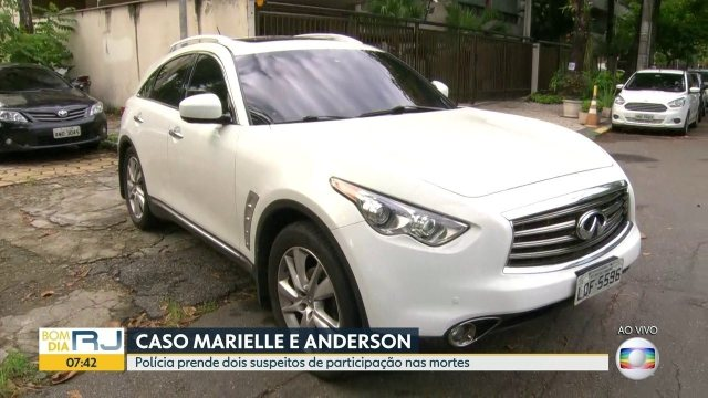 Carro de blindado de suspeito de participar do assassinato de Marielle é apreendido