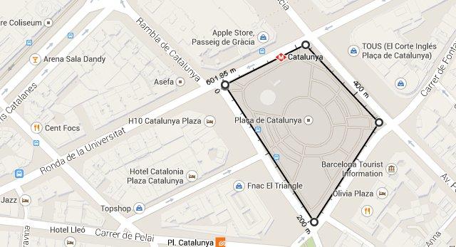 Google Maps ya permite medir distancias al vuelo
