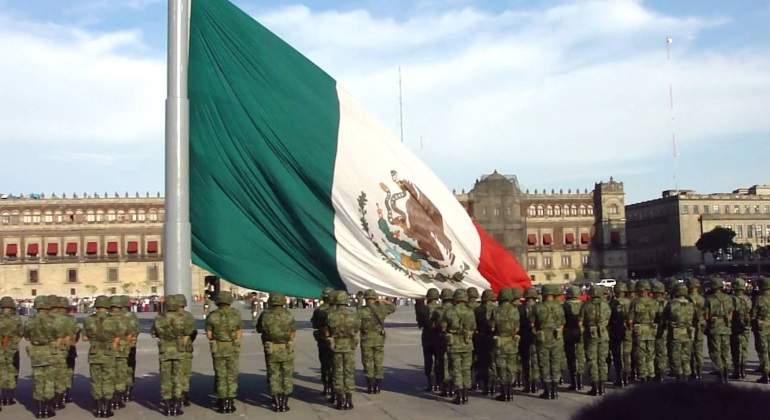 Resultado de imagen para elaboración  bandera de mexico