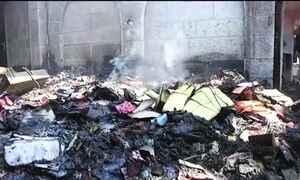 Vândalos ateiam fogo em igreja católica no norte de Israel