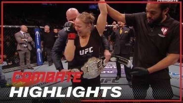 Melhores momentos Ronda Rousey