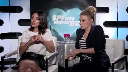 Mila Kunis and Kate McKinnon talk about 'My ex is a spy'