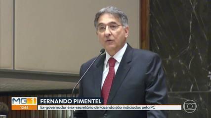 Ex-governador de Minas Gerais, Fernando Pimentel, do PT, é indiciado pela Polícia Civil
