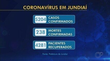 Jundiaí contabiliza 238 mortes por coronavírus e 5.204 casos positivos