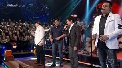 Bruno and Marrone recall partnership with Chitãozinho & Xororó