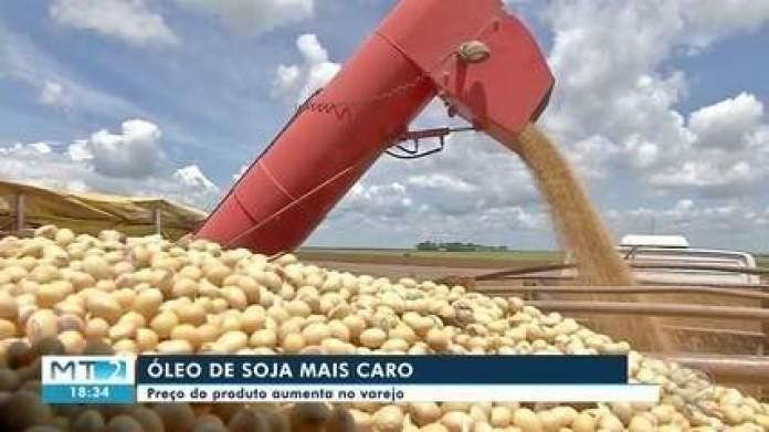 Preço do óleo de soja tem alta por causa da valorização do grão no mercado