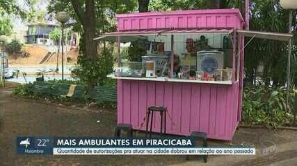 Número de trabalhadores ambulantes cresce 289% em quatro anos em Piracicaba, aponta Semtre
