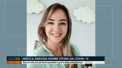 Médica grávida morre vítima da Covid-19, no sudoeste do Estado