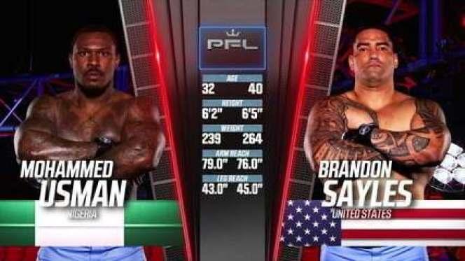 PFL 2021 #3 - Mohammed Usman x Brandon Sayles
