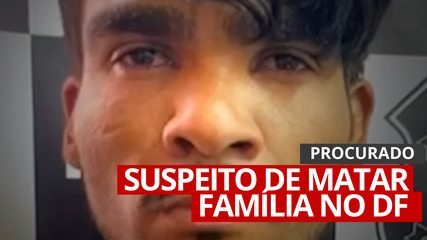 VÍDEO: Polícia busca criminoso que matou casal e dois filhos no DF