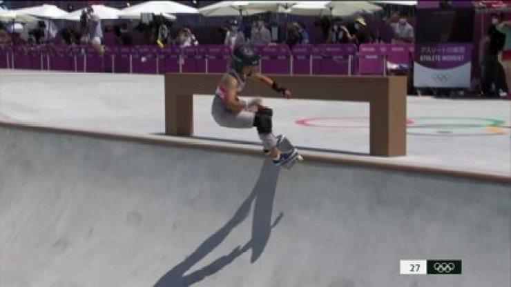 Veja as voltas de Sky Brown na final do skate park - Olimpíadas de Tóquio