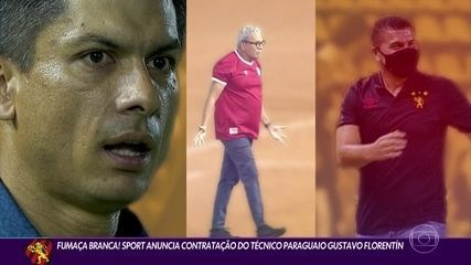"""THE """"novel"""" of the hiring of Sport's new coach, Paraguayan Gustavo Florentín"""