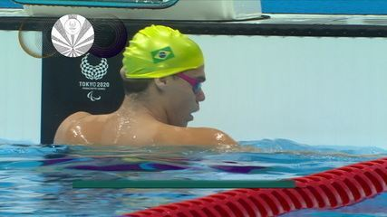 Gabriel Bandeira is silver in the 200m medley S14;  Reece Dunn (GBR) breaks world record - Tokyo Paralympics