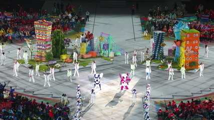Check out the dance of the Tokyo Paralympics mascots